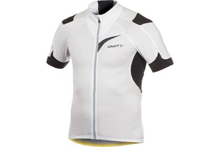 Pánský dres Craft 194379 Elite Bike jersey men White 2900