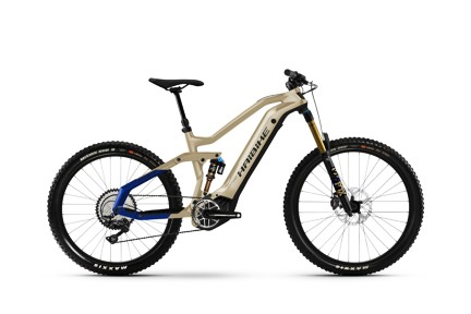 Haibike AllMTN 7 2021 Coffee/Black/Blue