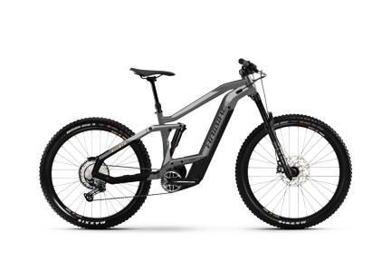 Haibike AllMtn 4 2021 Cool Grey/Black Matte
