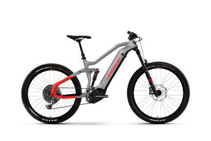 Haibike AllMTN 6 2021 Urban Grey/Black/Red Matte