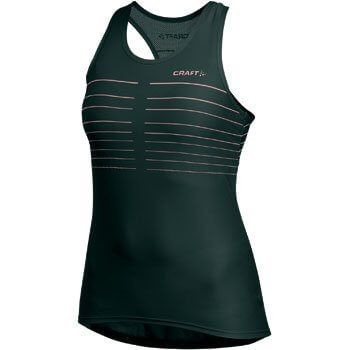 Dámský nátělník Craft 193614 Performance Bike Glow Singlet Wmn Black 2999