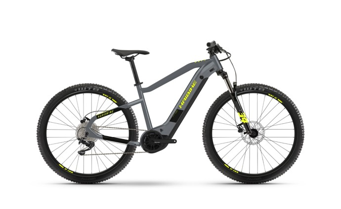 Haibike HardNine 6 2021 Cool Grey/Black