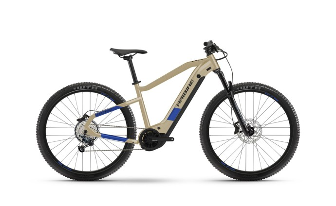 Haibike HardNine 7 2021 Coffee/Blue