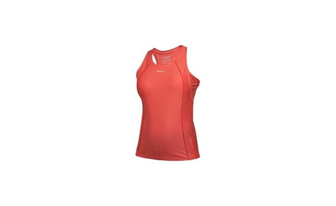 Dámský nátělník Craft 193660 Performance Run Singlet Wmn Losos 2418