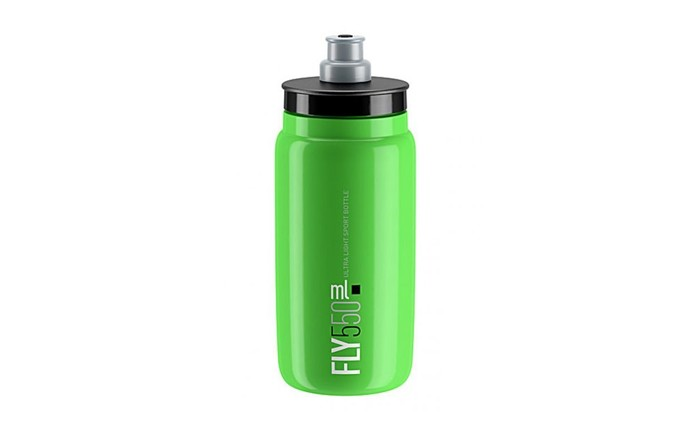 Láhev ELITE Fly 0,55l Green/Black Logo