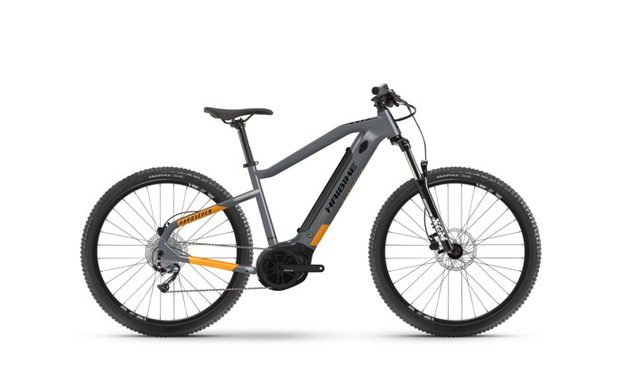 Haibike HardSeven 4 2021 Cool Grey/Lava Matte